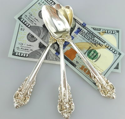 Sterling silver spoons